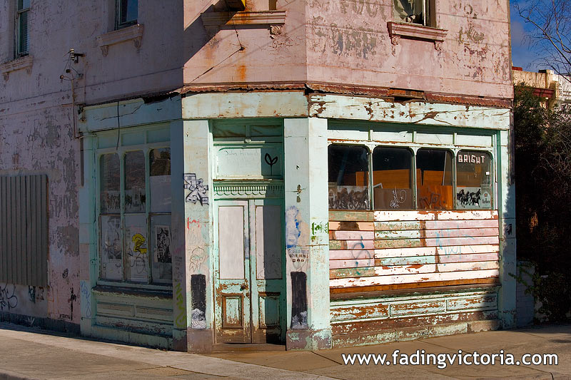Abandoned Milk Bar